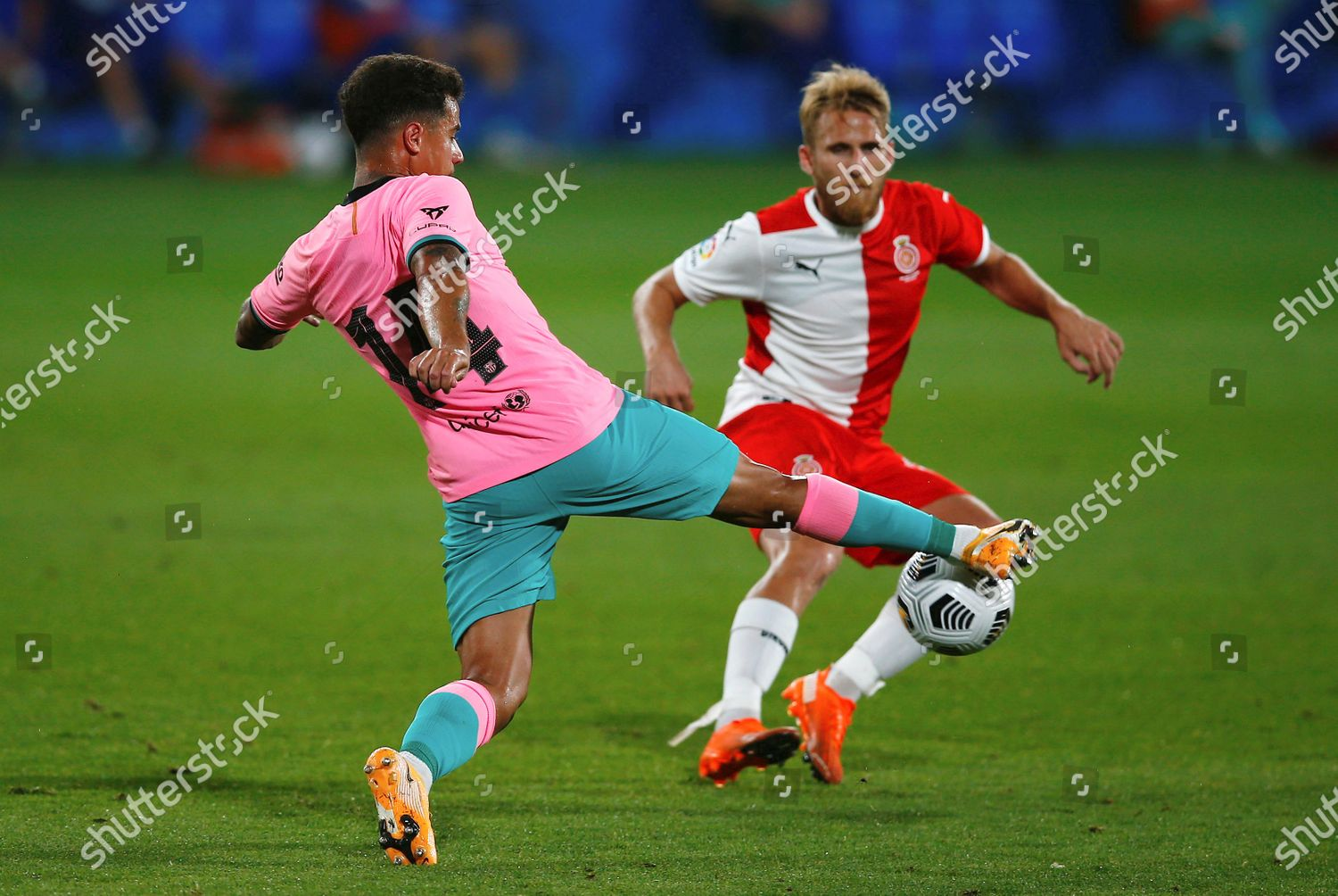 Fc Barcelonas Midfielder Philippe Coutinho L Action Editorial Stock Photo Stock Image Shutterstock