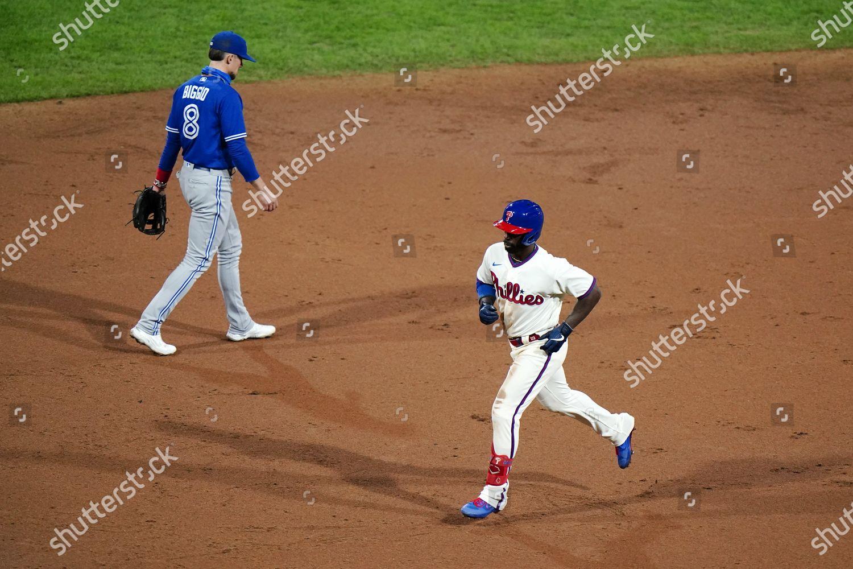 Stock photo of Blue Jays Phillies Baseball, Philadelphia, United States - 18 Sep 2020