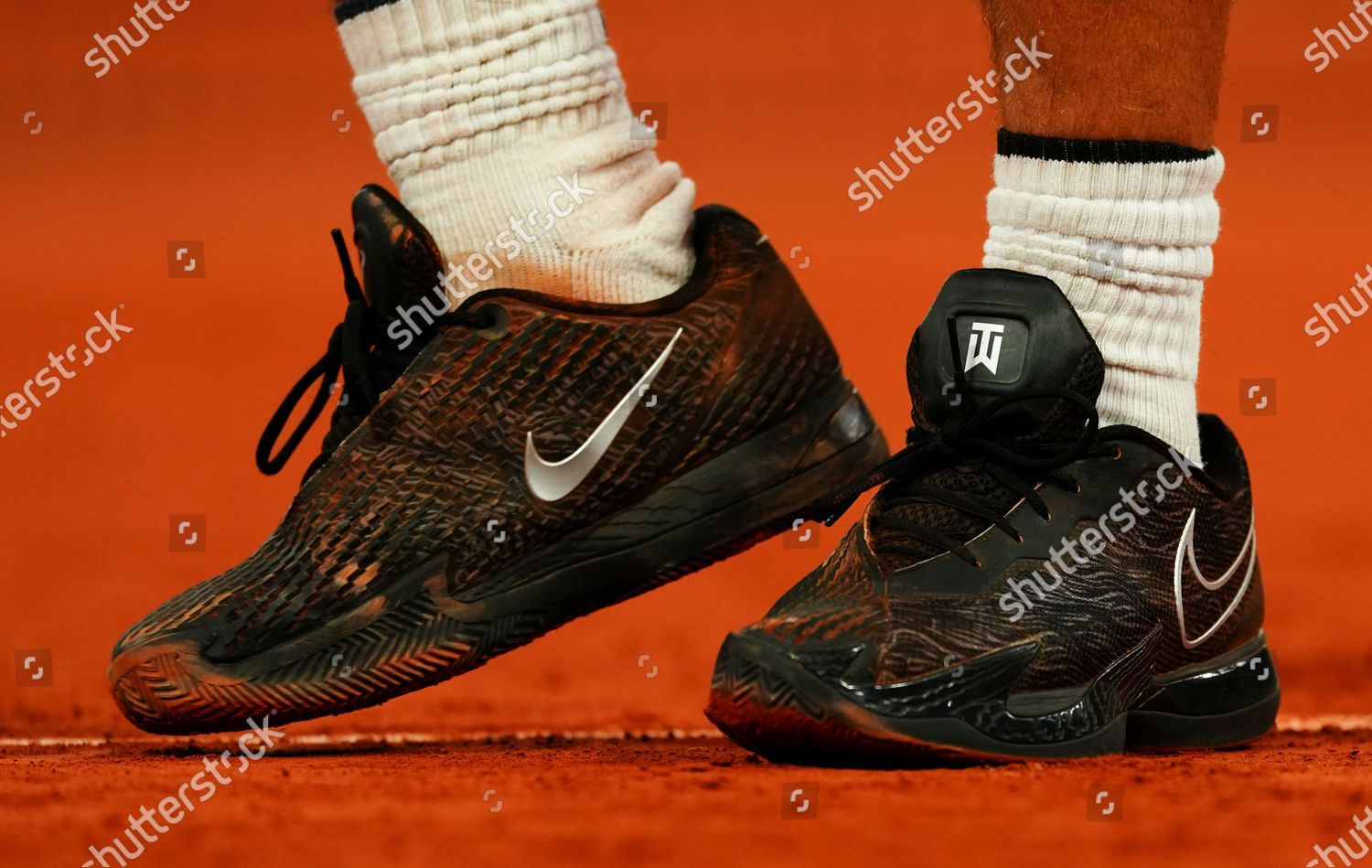 Nike Shoes Rafael Nadal Spain He Practices Editorial Stock Photo Stock Image Shutterstock