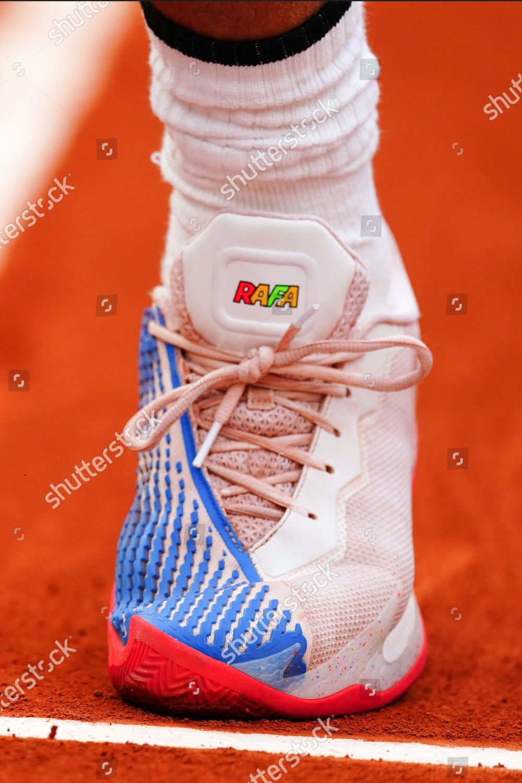 Nike Tennis Shoes Rafael Nadal During His Editorial Stock Photo Stock Image Shutterstock