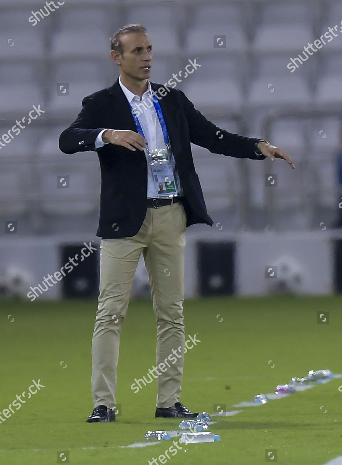 Persepolis Fcs Head Coach Yahya Golmohammadi Reacts Editorial Stock Photo Stock Image Shutterstock