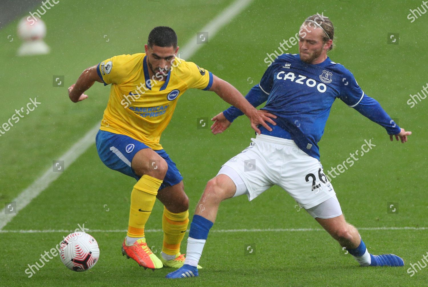 Tom Davies Everton R Action Against Neal Editorial Stock Photo Stock Image Shutterstock