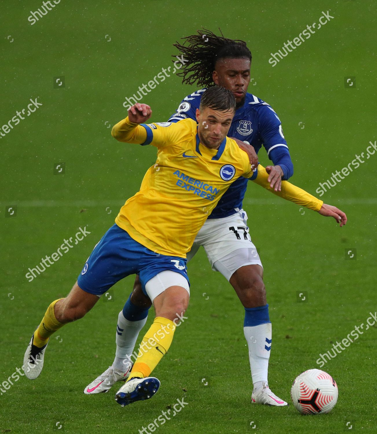 Alex Iwobi Everton R Action Against Joel Editorial Stock Photo Stock Image Shutterstock