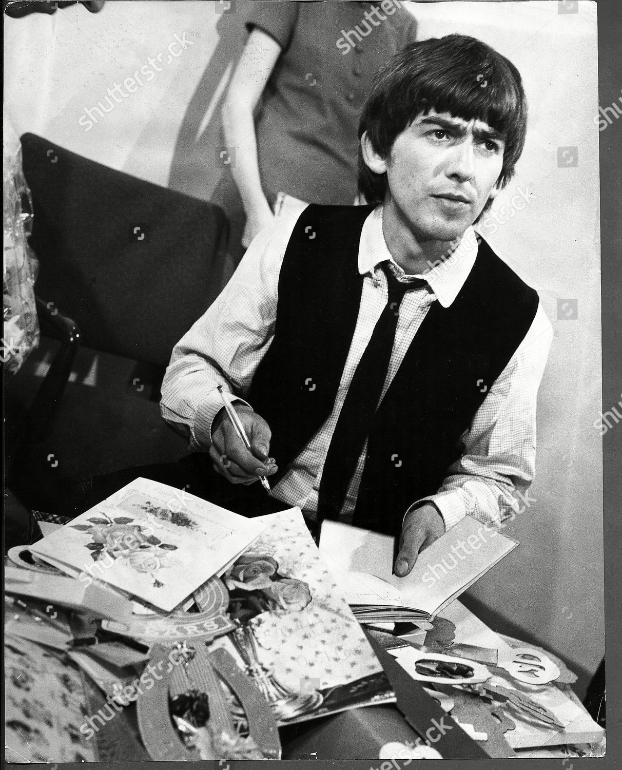 The Beatle Was Sent An Estimated 15 000 Cards And Gifts. Stock Image by Frank Apthorp for editorial use, Feb 25, 1964