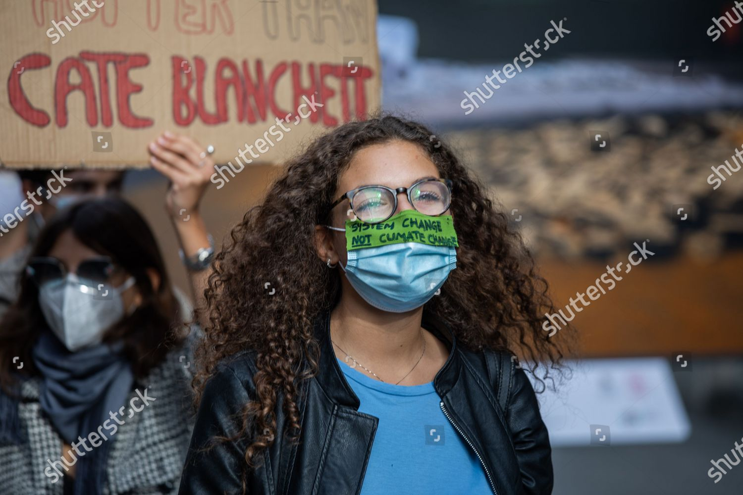 Activists Environmental Movement Friday Future During Event Editorial Stock Photo Stock Image Shutterstock
