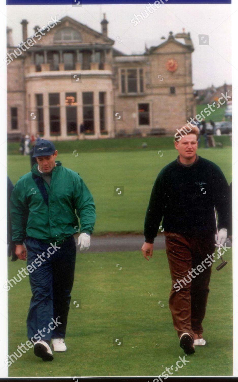 Ernie Els Golfer 1995 Colin Montgomerie Will Editorial Stock Photo