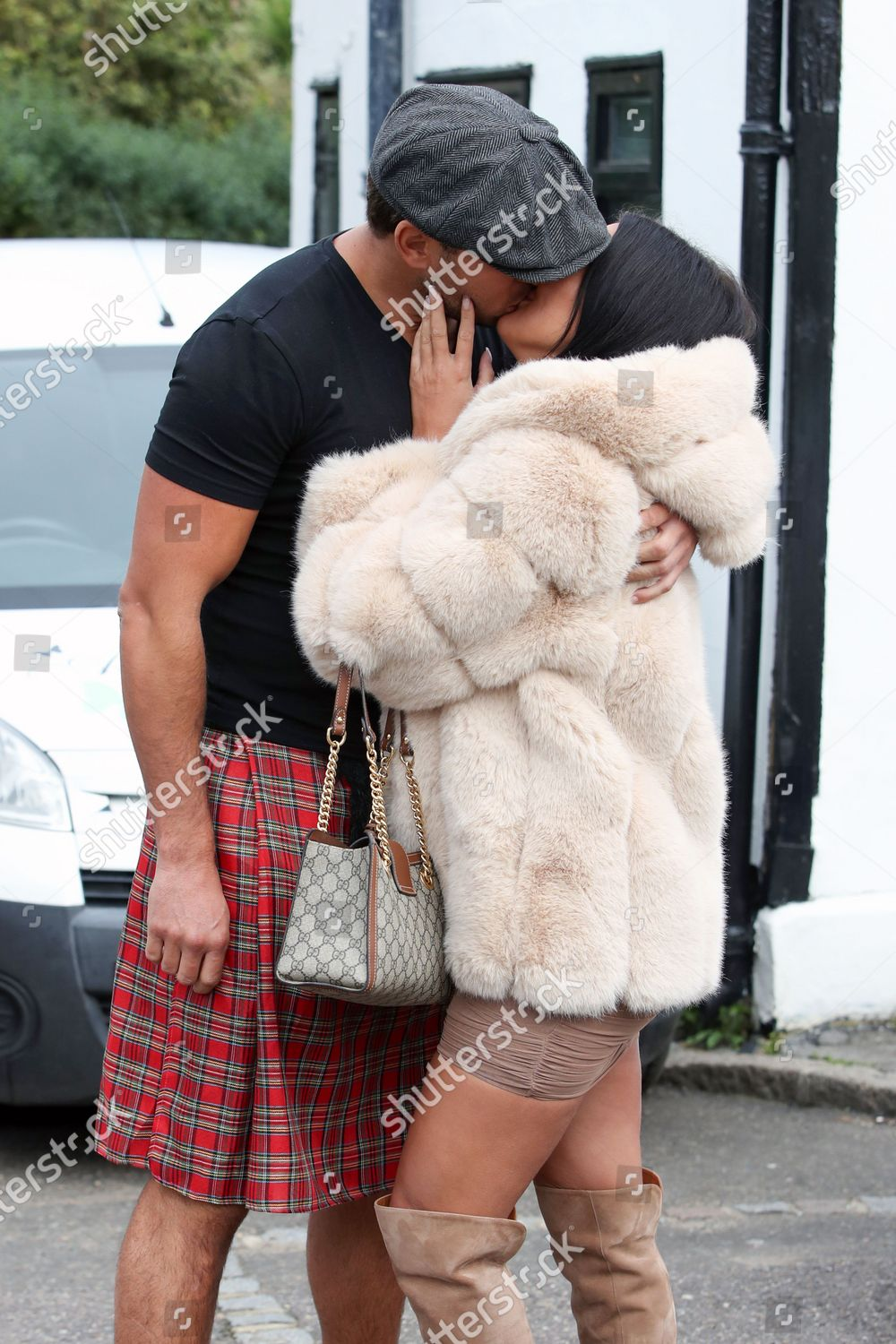 Stock photo of Exclusive - 'The Only Way is Essex' TV show filming, Essex, UK - 12 Oct 2020