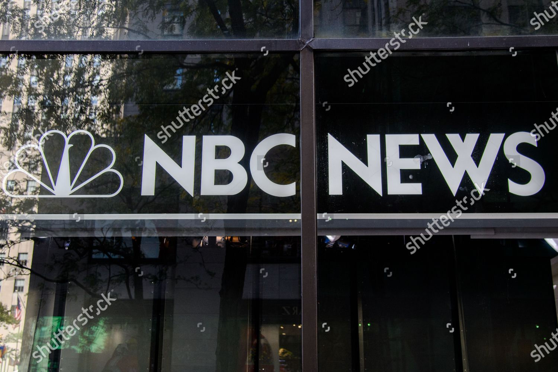 Nbc News Logo Seen 30 Rockefeller Plaza Editorial Stock Photo Stock Image Shutterstock