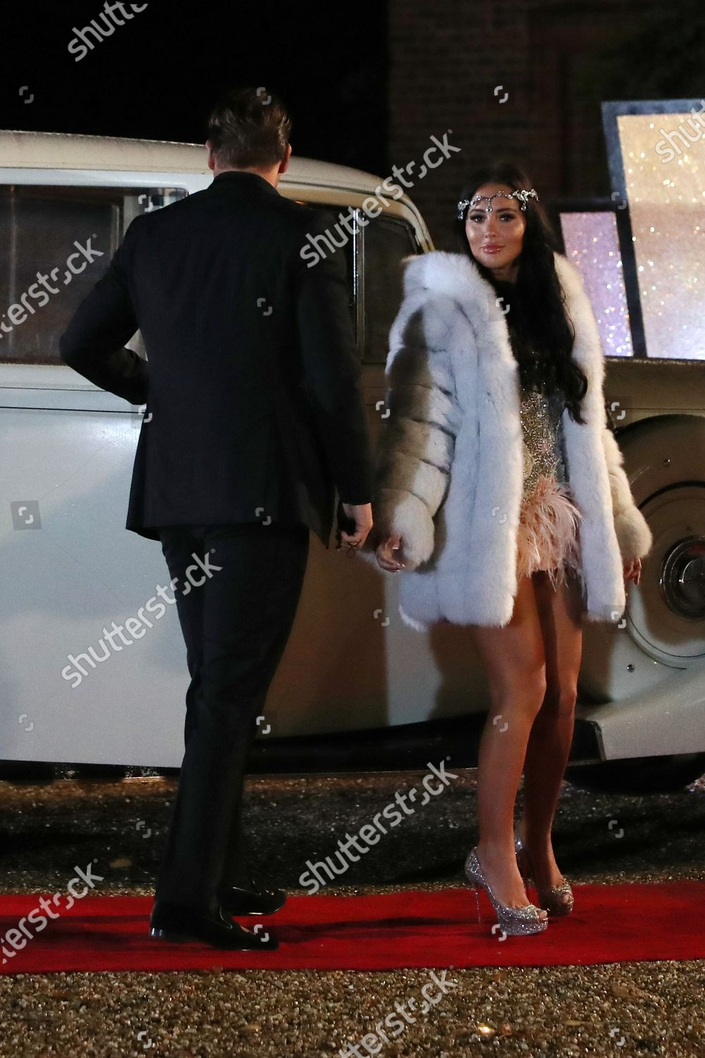 Stock photo of Exclusive - 'The Only Way is Essex' TV show finale filming, UK - 14 Oct 2020