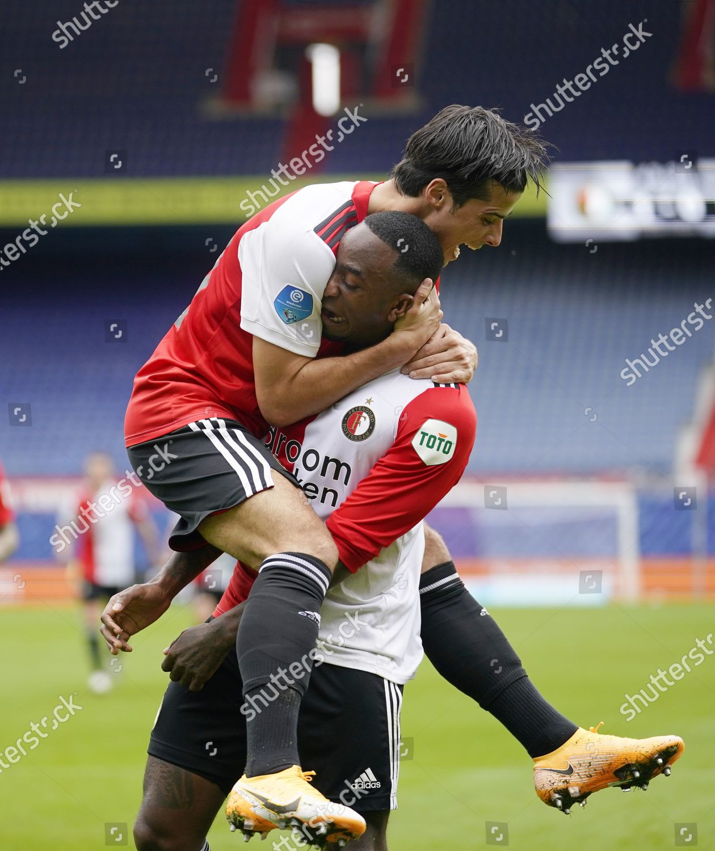 Ridgeciano Haps Feyenoord Scores 10 Congrats Jaoa Editorial Stock Photo Stock Image Shutterstock