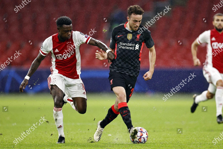 Quincy Promes L Ajax Diogo Jota Liverpool Editorial Stock Photo Stock Image Shutterstock