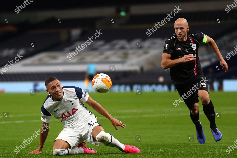 Carlos Vinicius Tottenham Hotspur Gernot Trauner Lask Editorial Stock Photo Stock Image Shutterstock