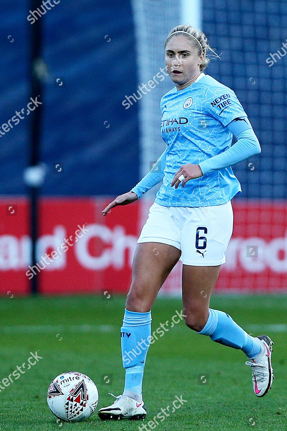 Stock photo of Liverpool Women v Manchester City Women, FA Women's Continental Cup - 04 Nov 2020