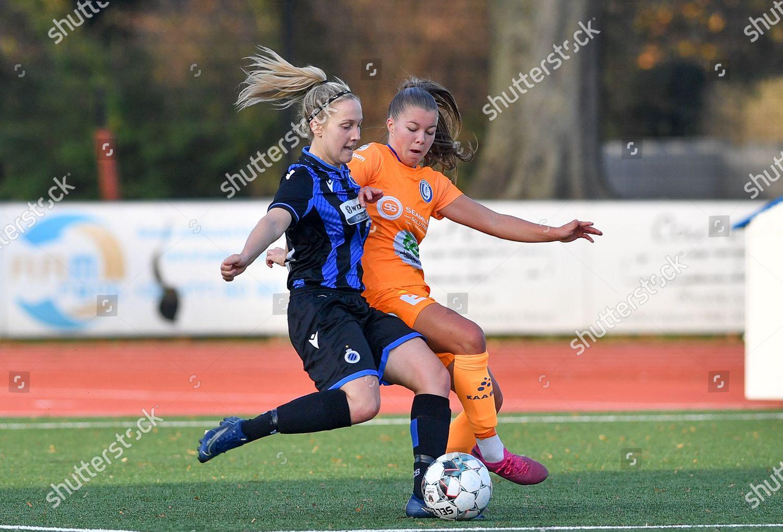 Celien Guns 10 Brugge fight ball Lyndsey Editorial Stock Photo - Stock  Image
