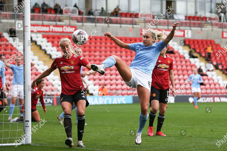 Stock photo of Manchester United Women v Manchester City Women, FA Women's Super League - 14 Nov 2020