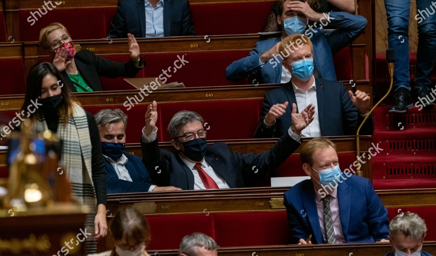Stock photo of Weekly session of questions to the government, Paris, France - 17 Nov 2020