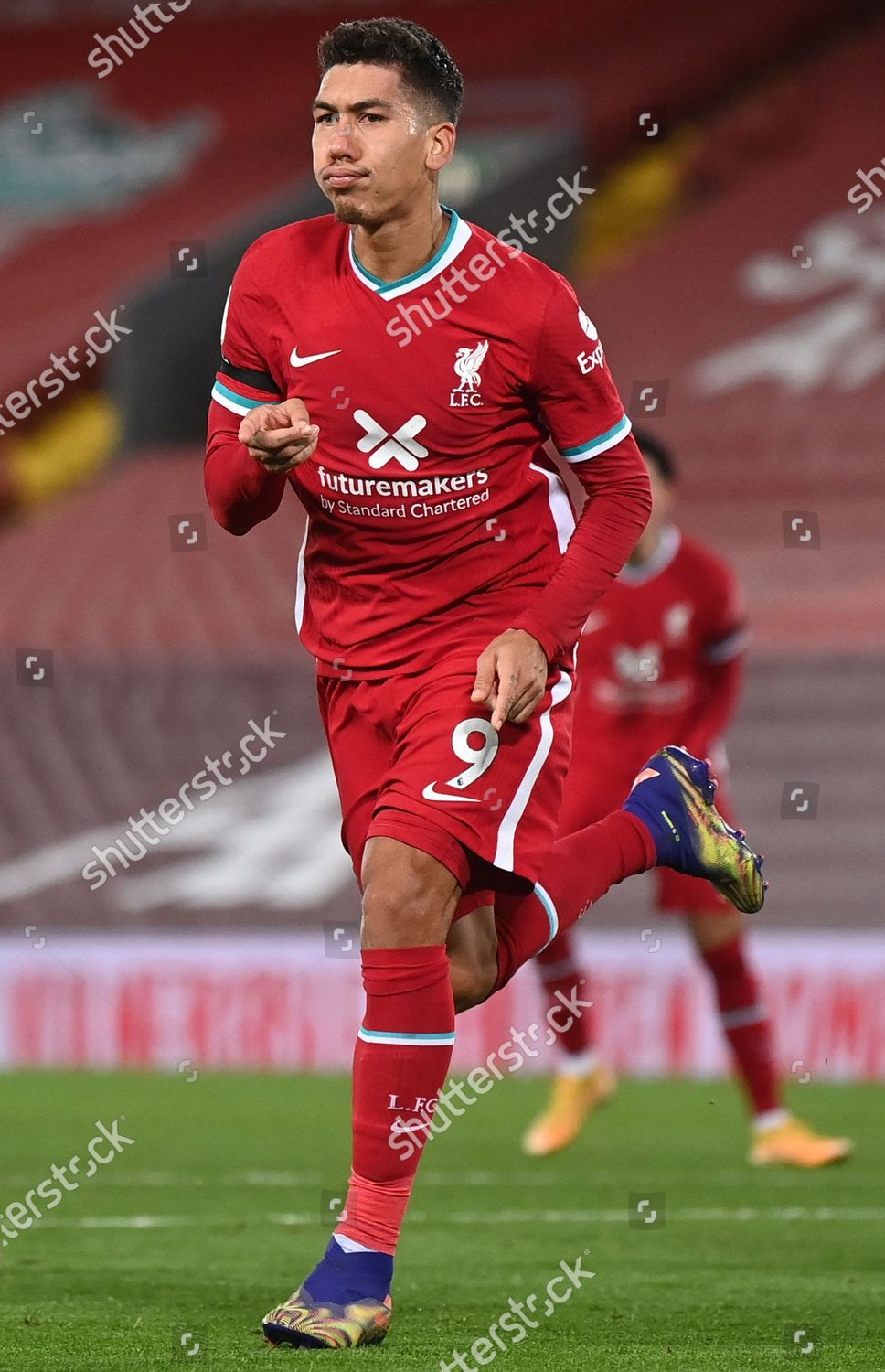Roberto Firmino Liverpool Celebrates After Scoring 30 Editorial Stock Photo Stock Image Shutterstock