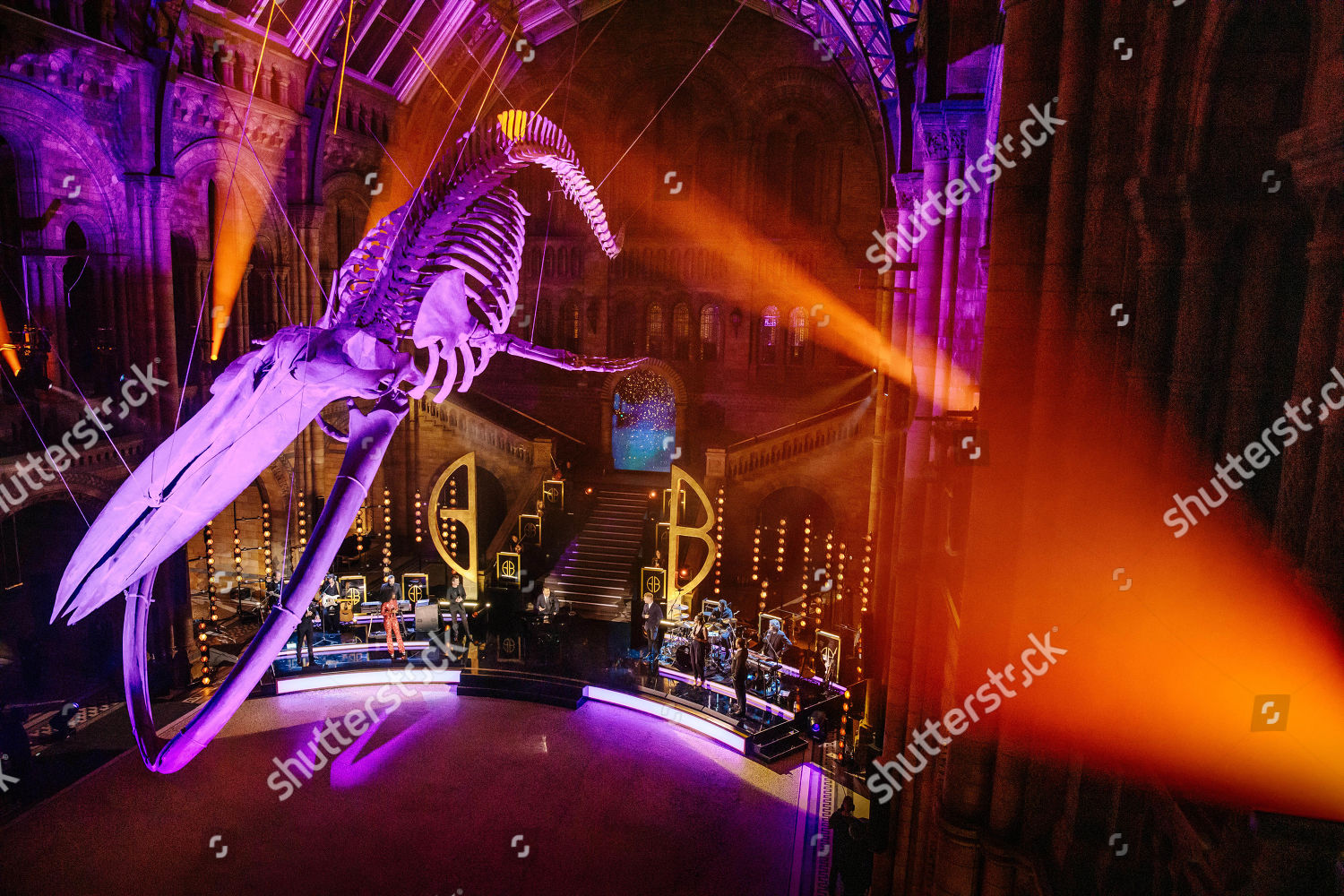 Stock photo of 'Gary Barlow's Night At The Museum' TV Show, UK - 06 Dec 2020