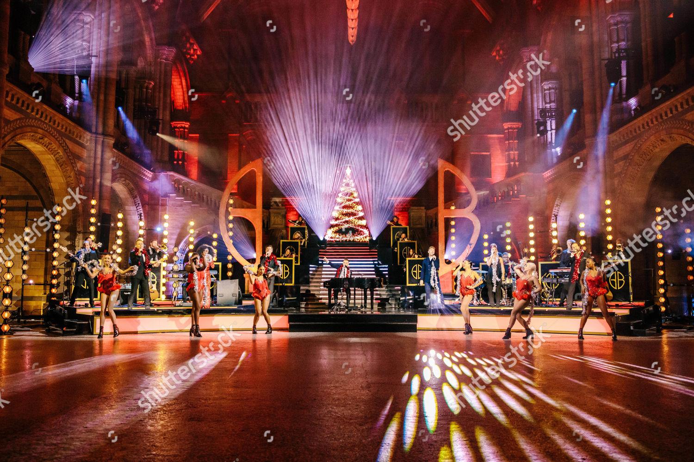 Stock photo of 'Gary Barlow's Night At The Museum' TV Show, UK - 06 Dec 2020
