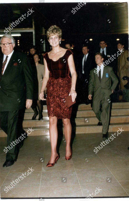 Prince Princess Diana France 1992 Divorced 81996 Editorial