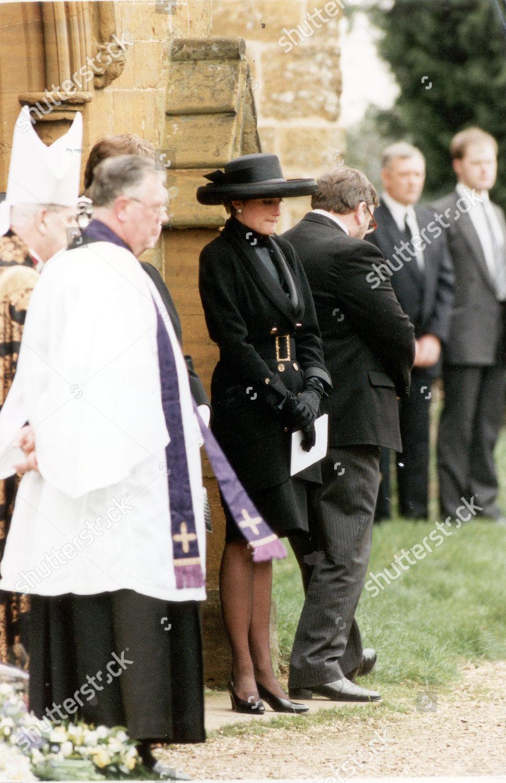 Princess Diana 1992 Princess Diana Pictured Funeral Editorial Stock Photo Stock Image Shutterstock