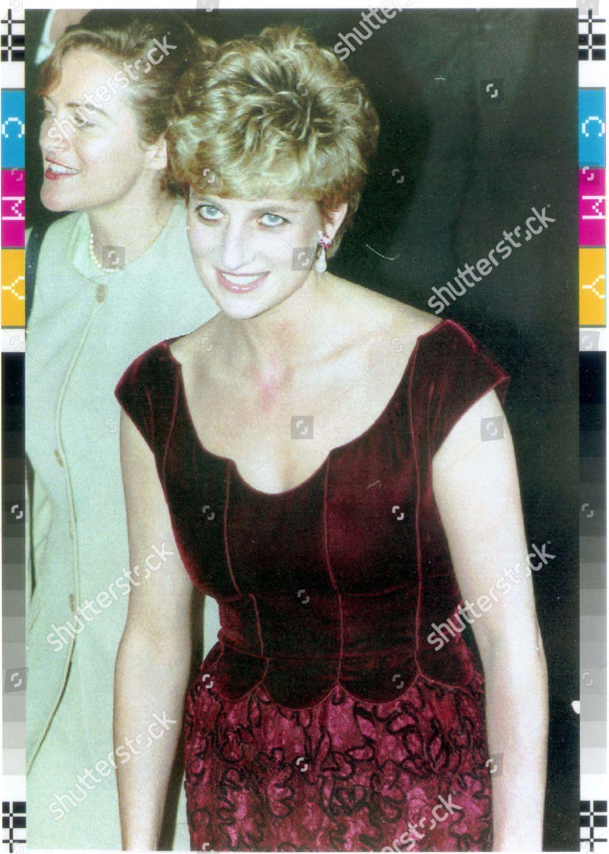 Prince Princess Diana France 1992 Divorced 81996 Editorial Stock
