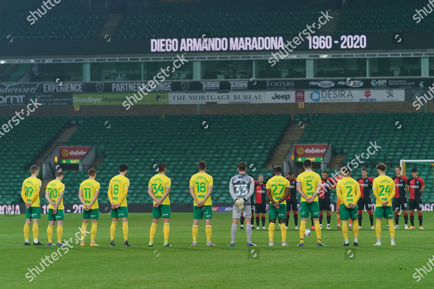 Norwich City Coventry City Players Stand Minutes Editorial Stock Photo Stock Image Shutterstock