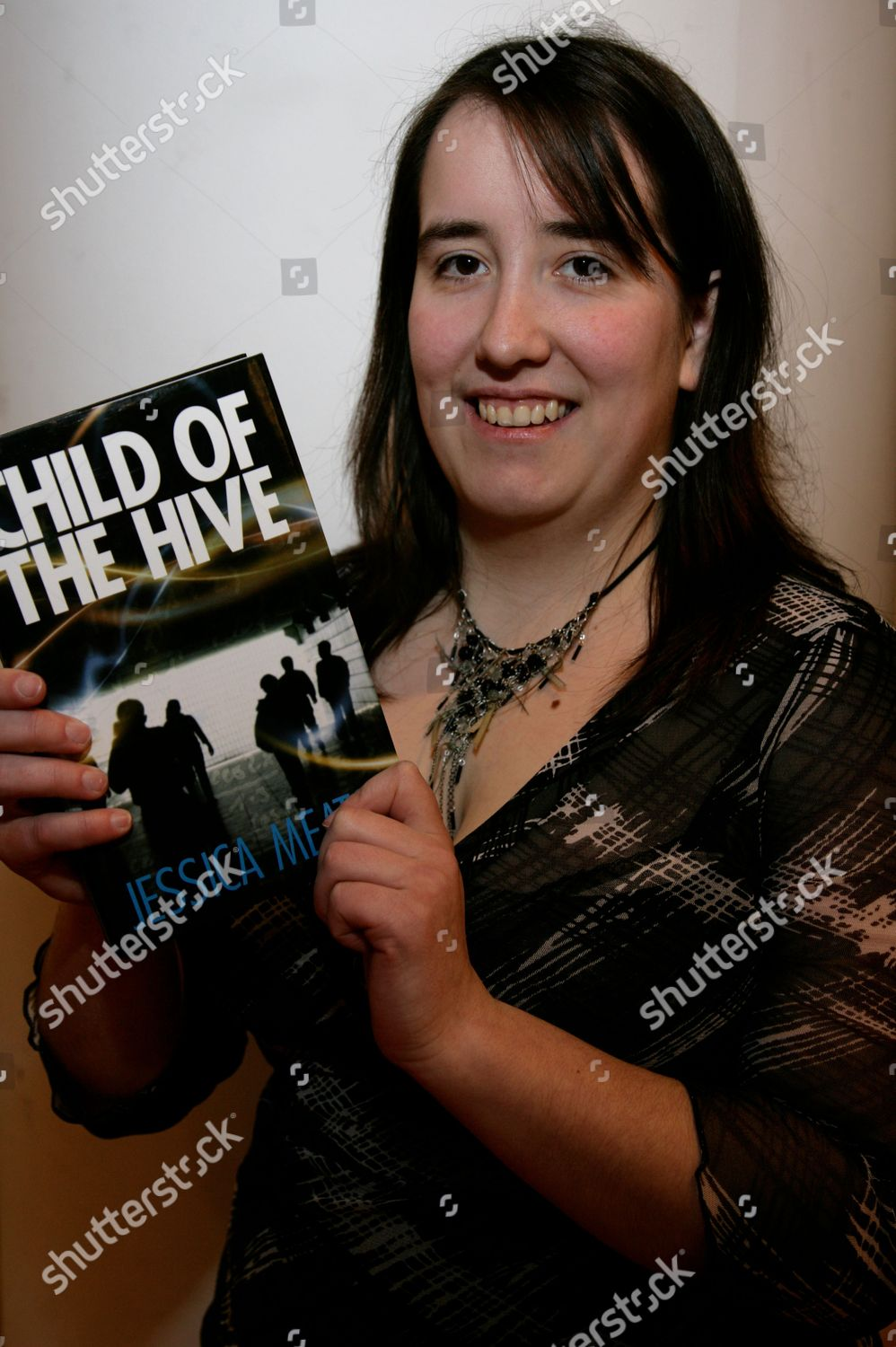 Stock photo of 'Child Of The Hive' Jessica Meats Book Promotion, Waterstones, Reading, Britain - 13 Feb 2010
