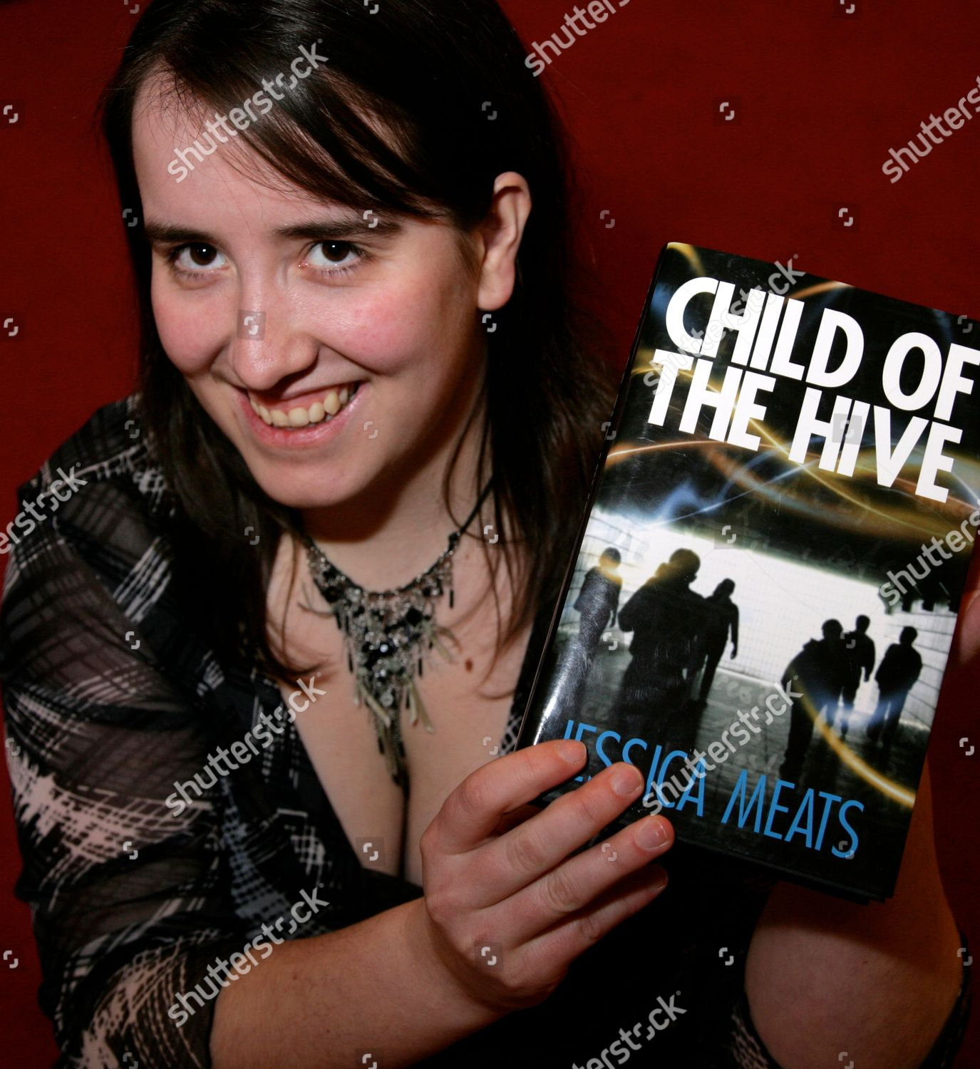 'Child Of The Hive' Jessica Meats Book Promotion, Waterstones, Reading, Britain - 13 Feb 2010的庫存照片