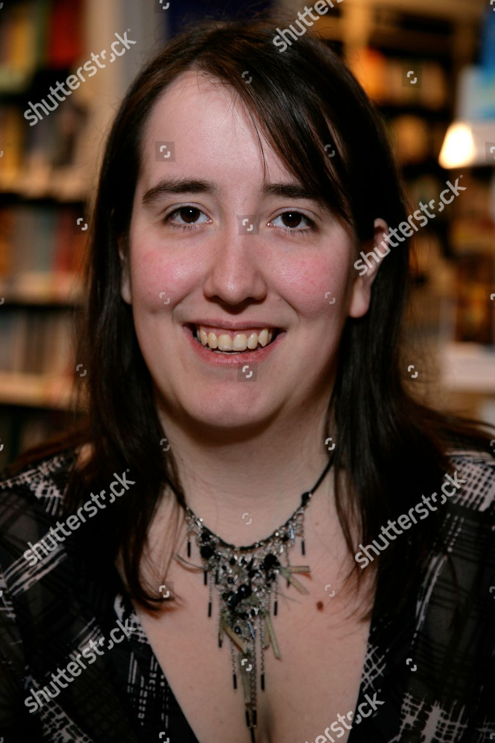 Stock-foto af 'Child Of The Hive' Jessica Meats Book Promotion, Waterstones, Reading, Britain - 13 Feb 2010