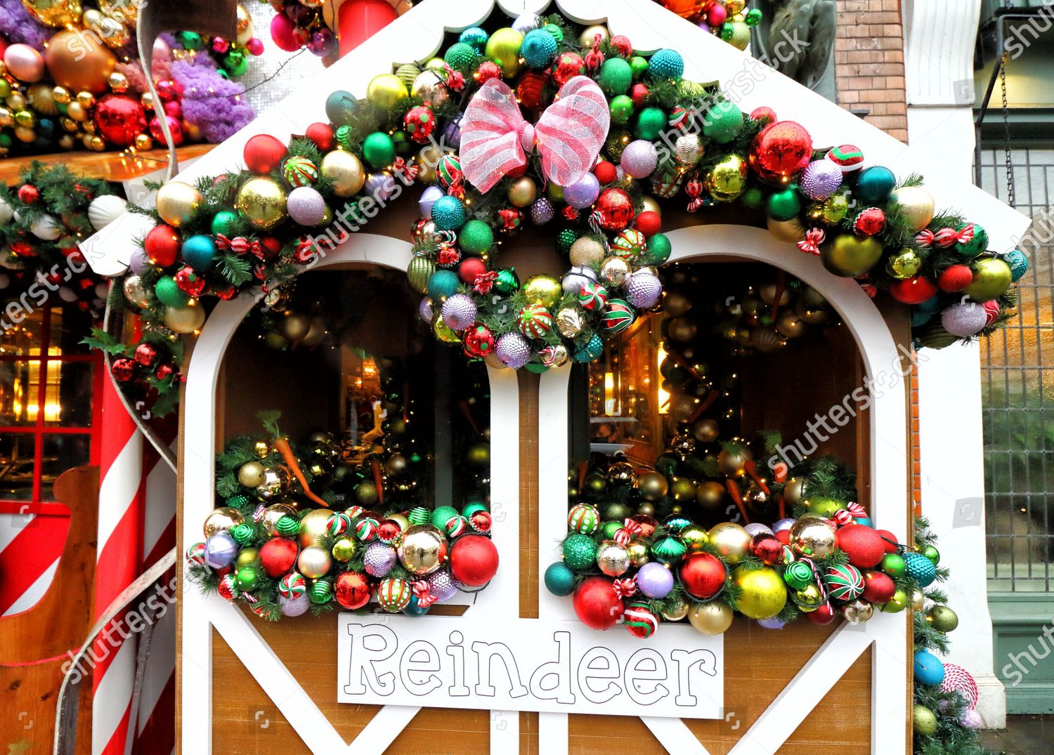 View Reindeer Stables Outside Ivy Chelsea Garden Editorial Stock Photo Stock Image Shutterstock