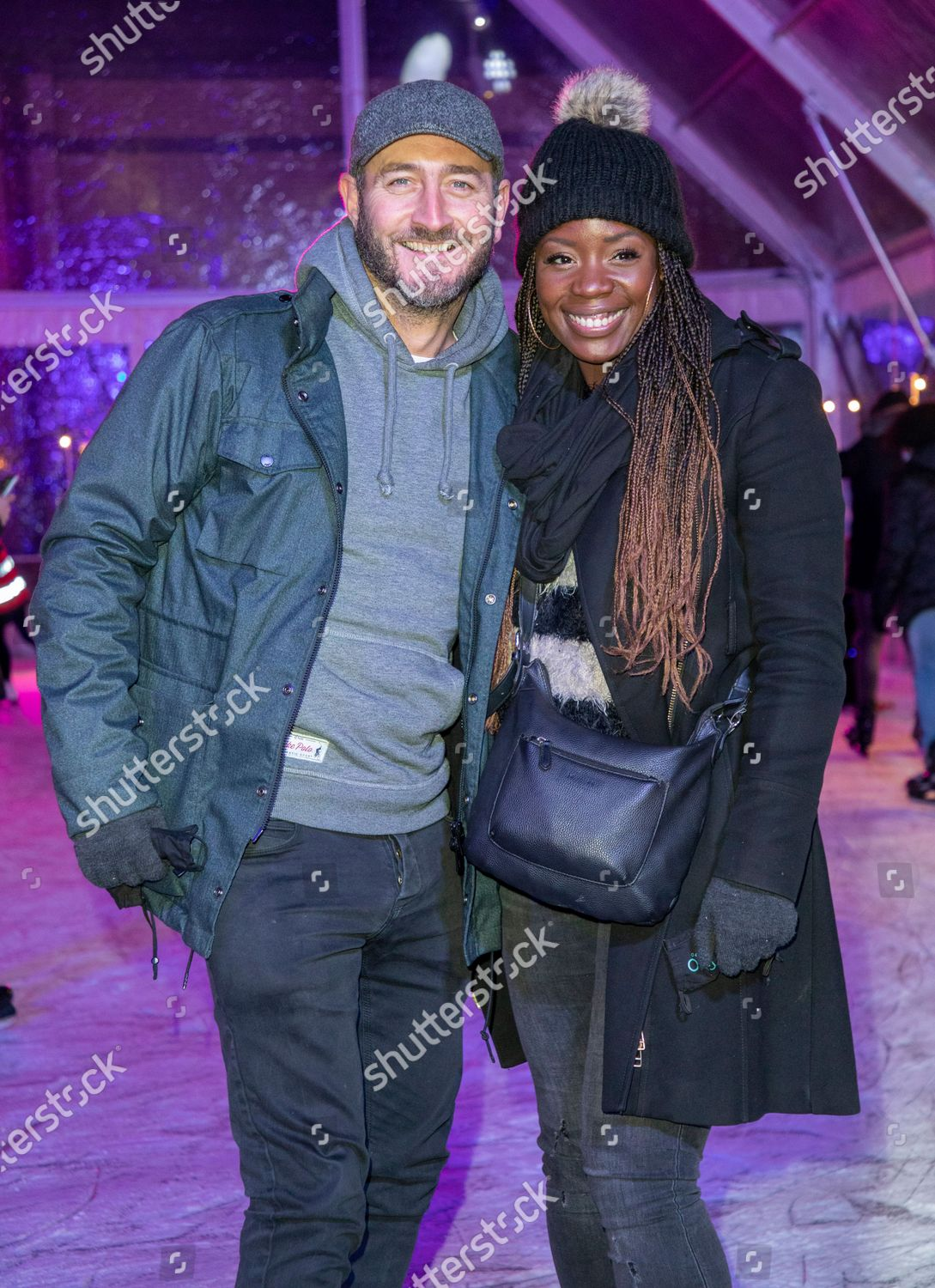 Will Mellor His Wife Michelle Mcsween Editorial Stock Photo Stock Image Shutterstock