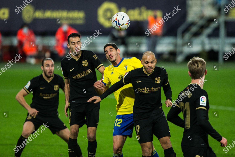Yann Bodiger Cadiz during LaLiga football match Editorial Stock Photo -  Stock Image
