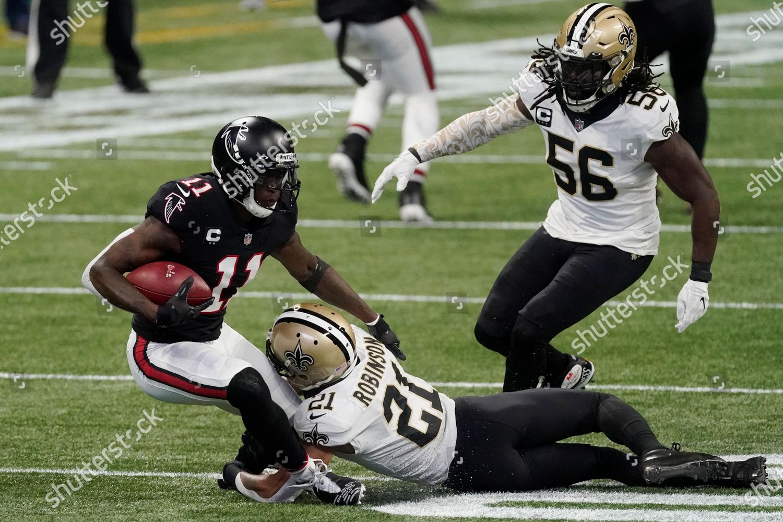 Stock photo of Saints Falcons Football, Atlanta, United States - 06 Dec 2020