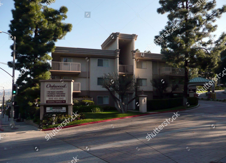 Oakwood Apartments Where Hollywood Actor Corey Haim Editorial Stock