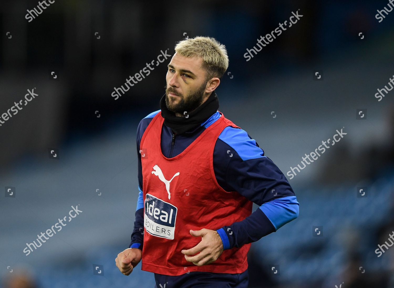 Charlie Austin West Bromwich Albion Black Eye Editorial Stock Photo Stock Image Shutterstock