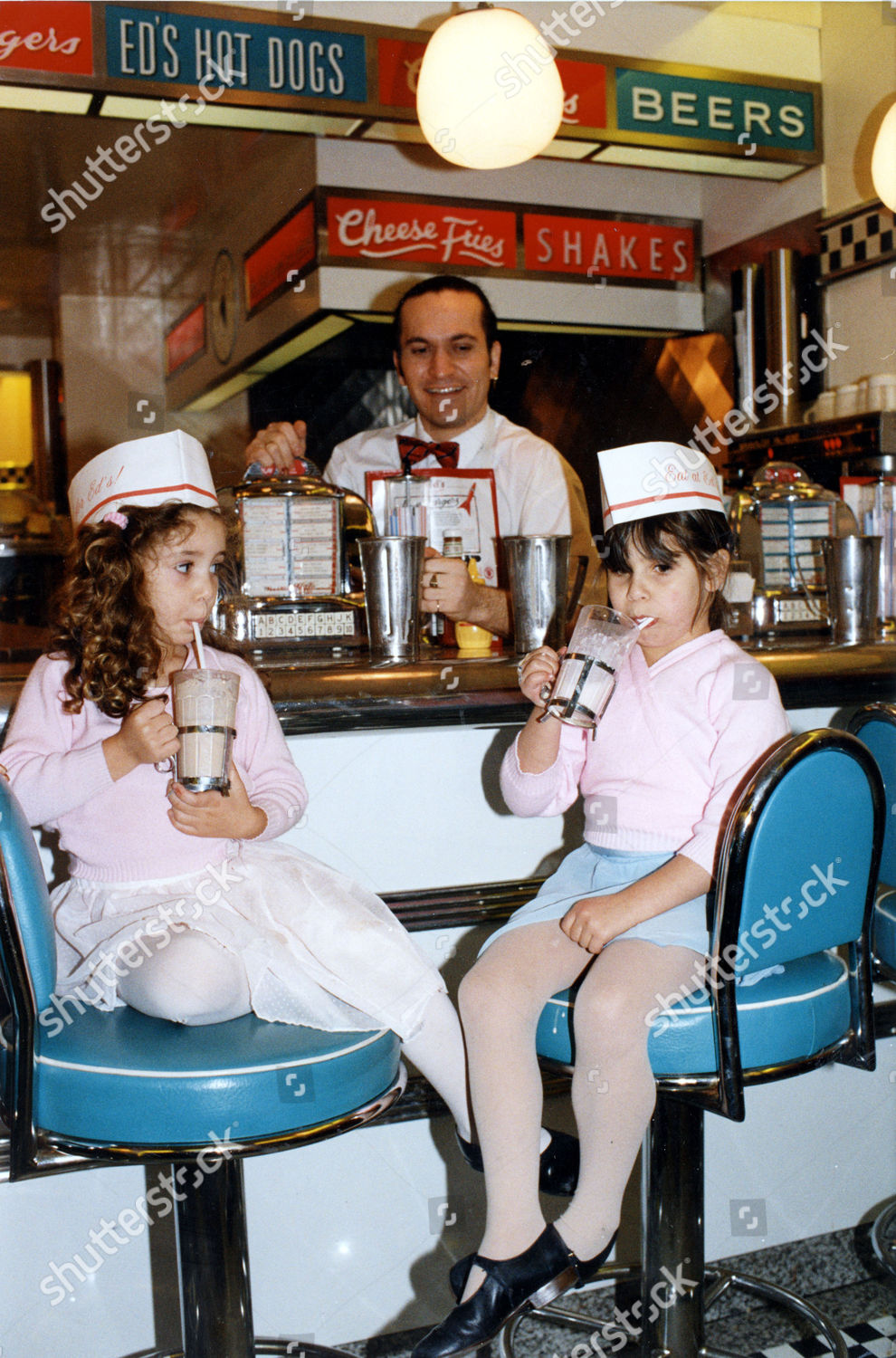 Eds Easy Diner Restaurant Hampstead London Children Foto Editorial Imagem De Banco Shutterstock