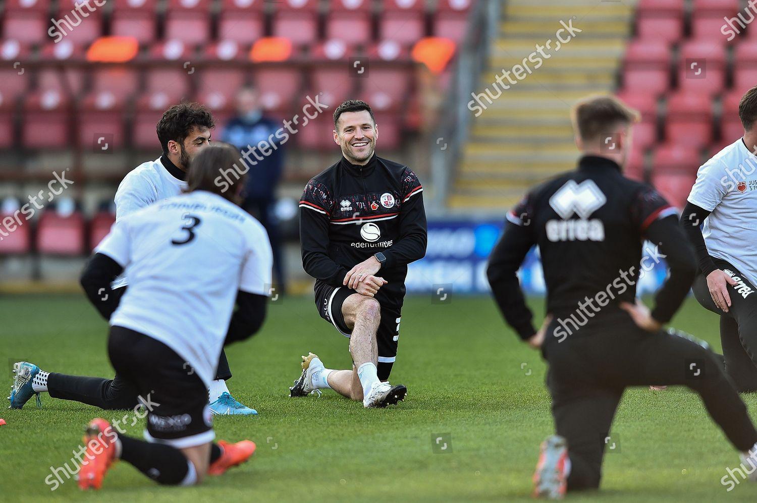 Mark Wright Crawley Fc During Warming During Editorial Stock Photo Stock Image Shutterstock