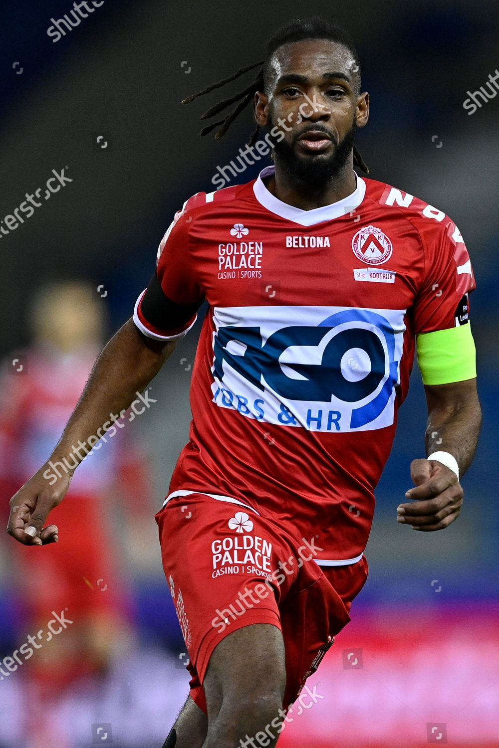 Kortrijks Ilombe Mboyo Pictured During Soccer Match Editorial Stock Photo Stock Image Shutterstock