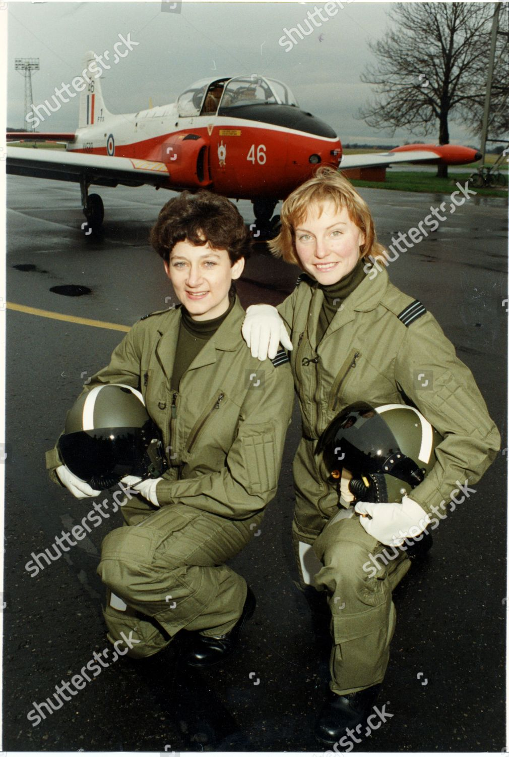 Royal Air Force High Fliers Sally Cox Editorial Stock Photo