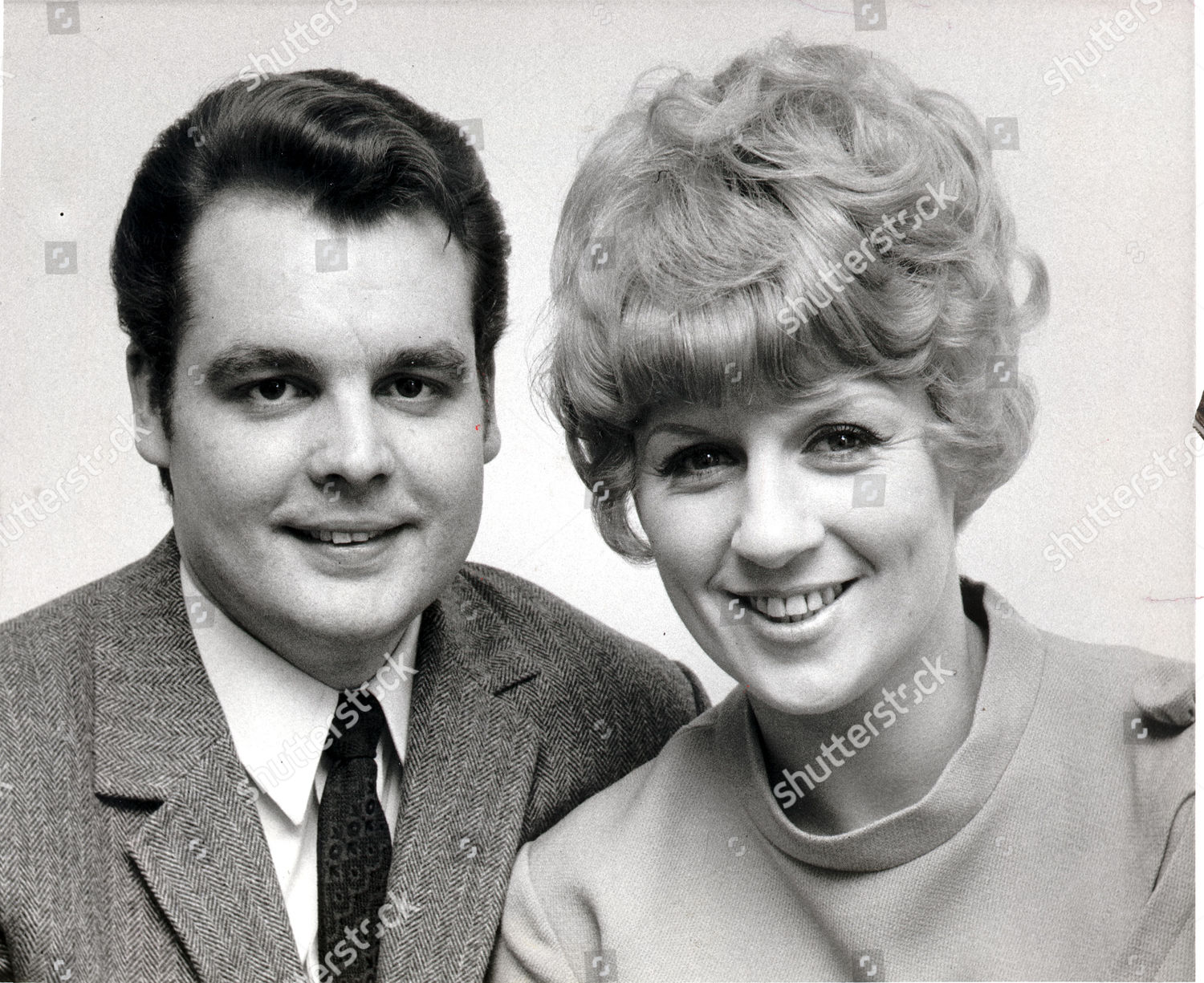 Composer Tony Hatch His Wife Singer Jackie Editorial Stock