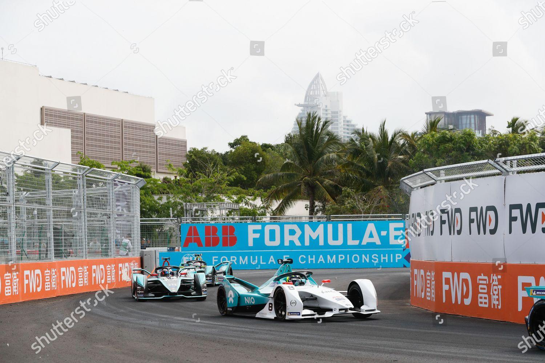 Stock photo of Formula E, Sanya E-prix, Sanya Street Circuit, China - 23 Mar 2019