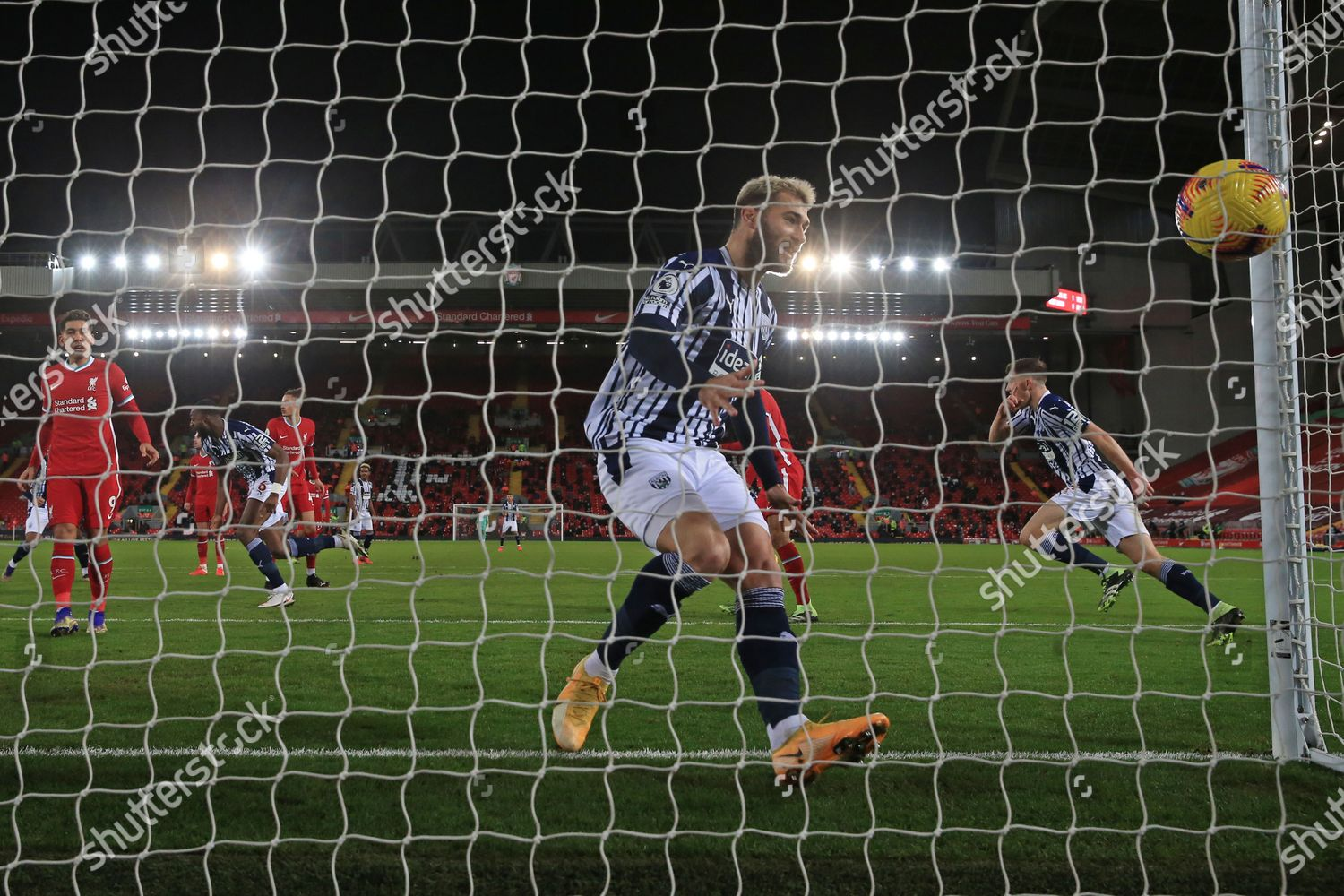 West Bromwich Albions Charlie Austin Watches Watches Editorial Stock Photo Stock Image Shutterstock