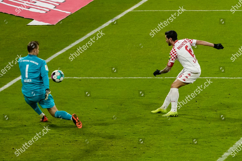 Bayern Munichs German keeper Manuel Neuer L Editorial Stock Photo ...