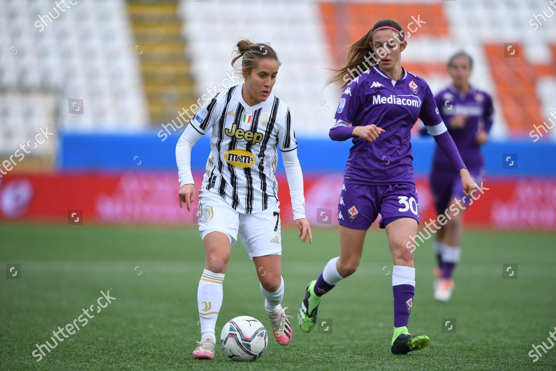Valentina Cernoia Juventus WomenMartina Zanoli Fiorentina Femminile  Redaktionelles Stockfoto – Stockbild