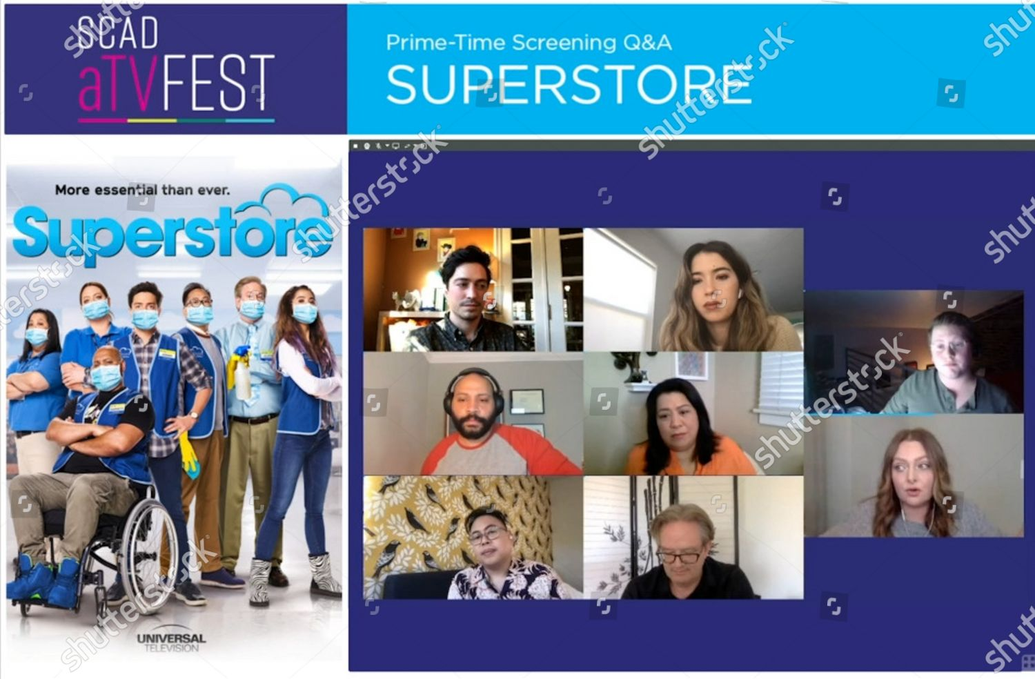 Stock photo of SCAD aTVFest - 'Superstore' panel, USA - 04 Feb 2021