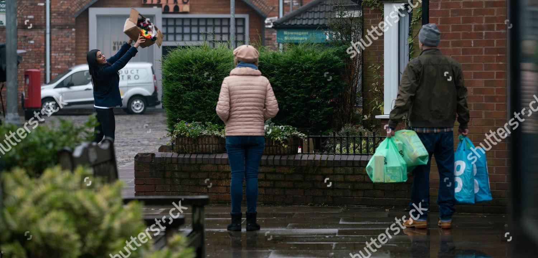 Stock photo of 'Coronation Street' TV Show, UK - 2021
