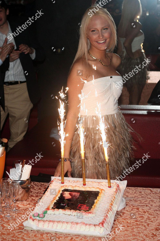Tremendous Noemi Letizia Her Birthday Cake Editorial Stock Photo Stock Funny Birthday Cards Online Alyptdamsfinfo