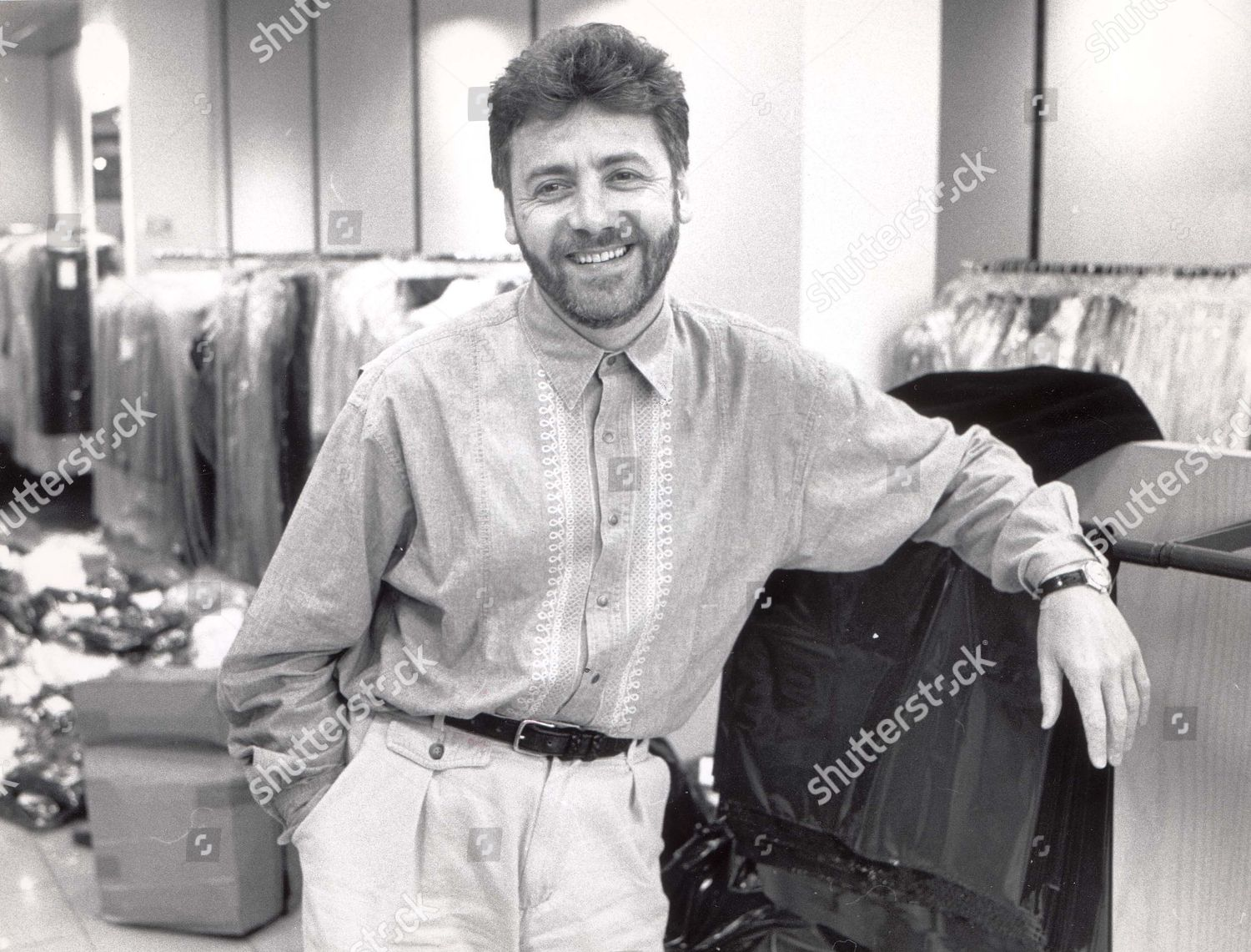 Jeff Banks Fashion Designer British Clothes Designer Editorial Stock Photo Stock Image Shutterstock