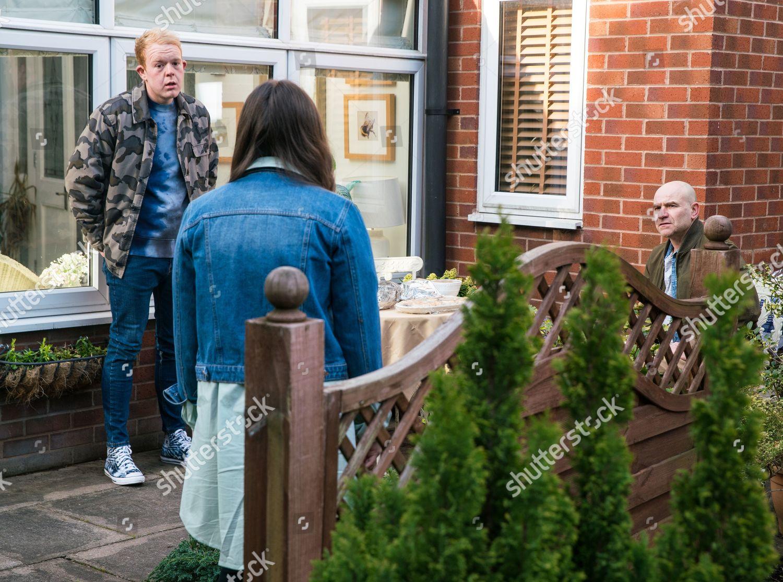 Stock photo of 'Coronation Street' TV Show UK - 2021